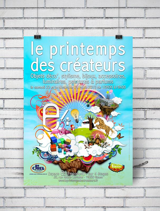 Votre graphiste à Rouen : création d'affiche, poster, solutions Print