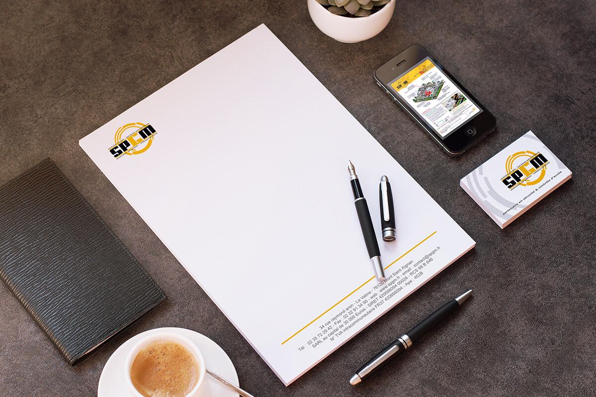 Votre graphiste à Rouen : création de documents & outils internes