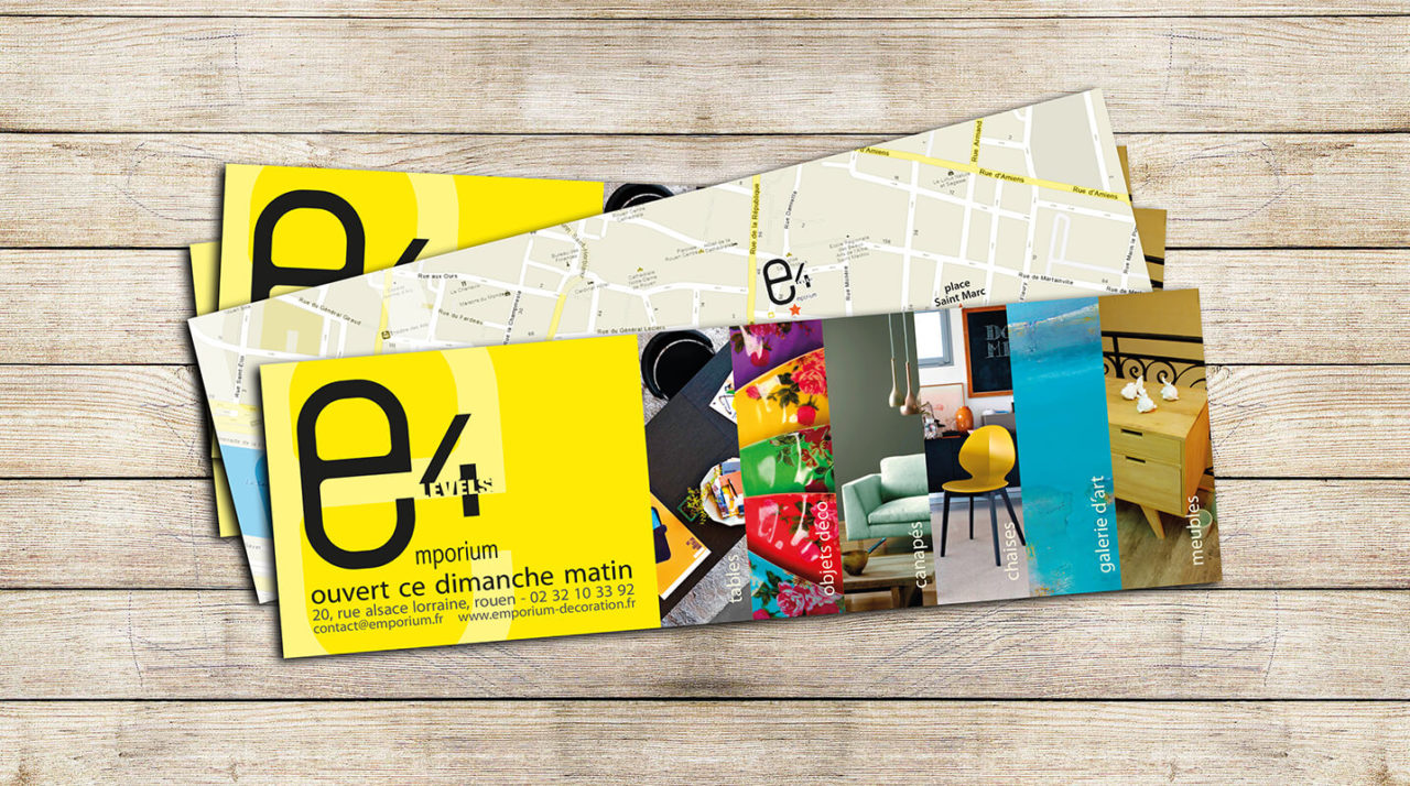 Votre graphiste à Rouen : création de flyer