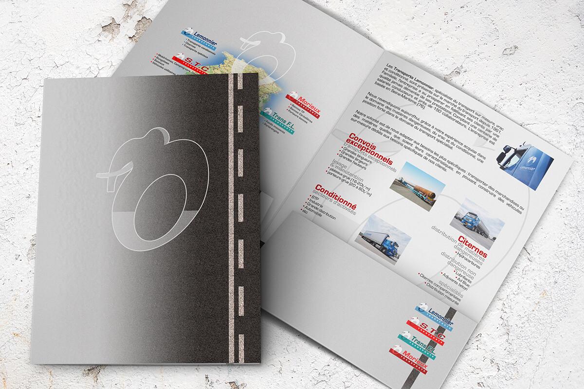 Votre graphiste à Rouen : création de plaquette, dépliant, catalogue & brochure, solutions Print