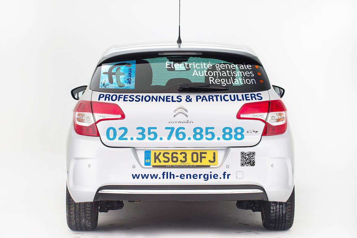Votre graphiste à Rouen : adhésif & recouvrement de véhicule
